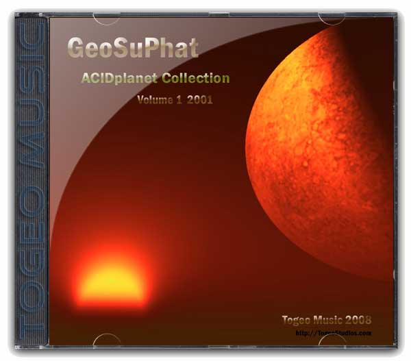 GeoSuPhat - AP Collection V1-4 cd cover art