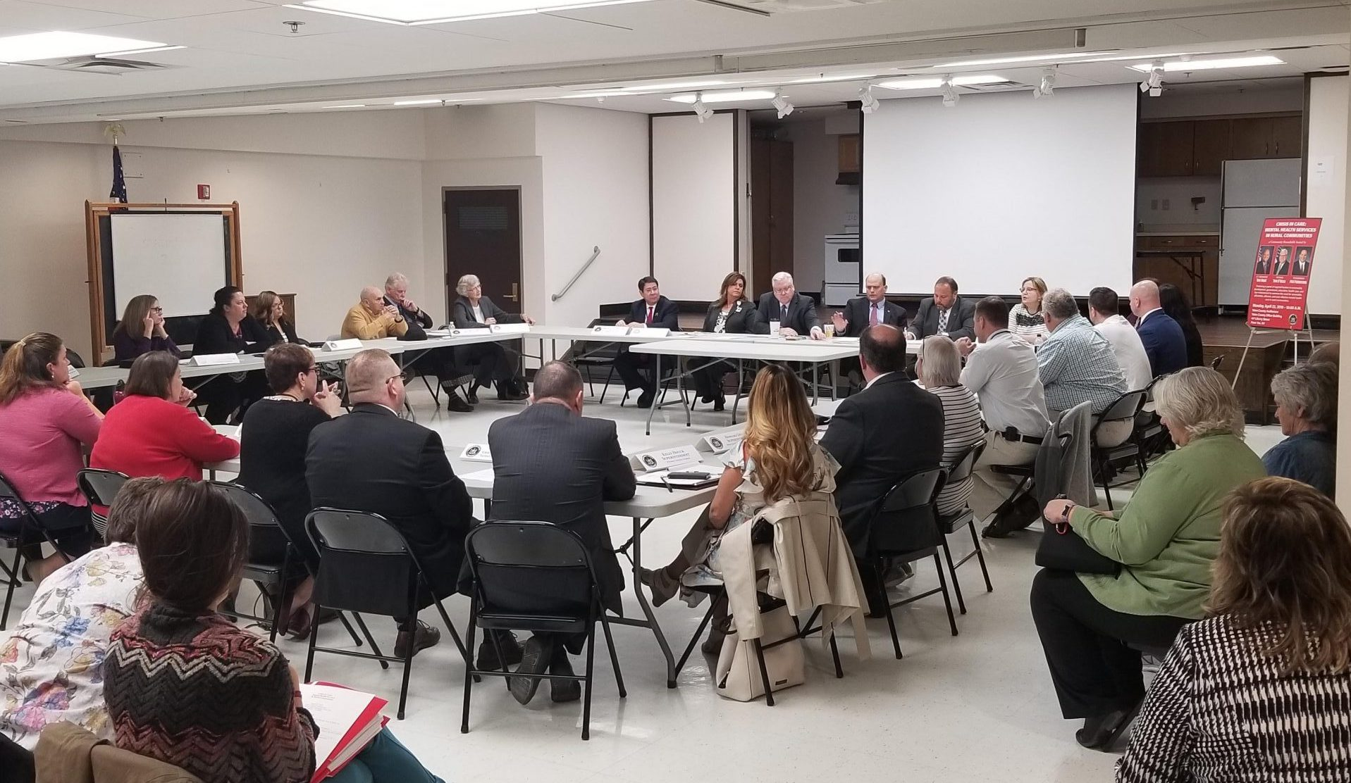 Roundtable on mental health services in the Finger Lakes held in Penn Yan