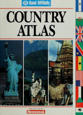 Cover of: Country atlas | Rand McNally