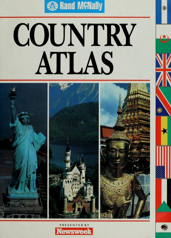 Country atlas by Rand McNally