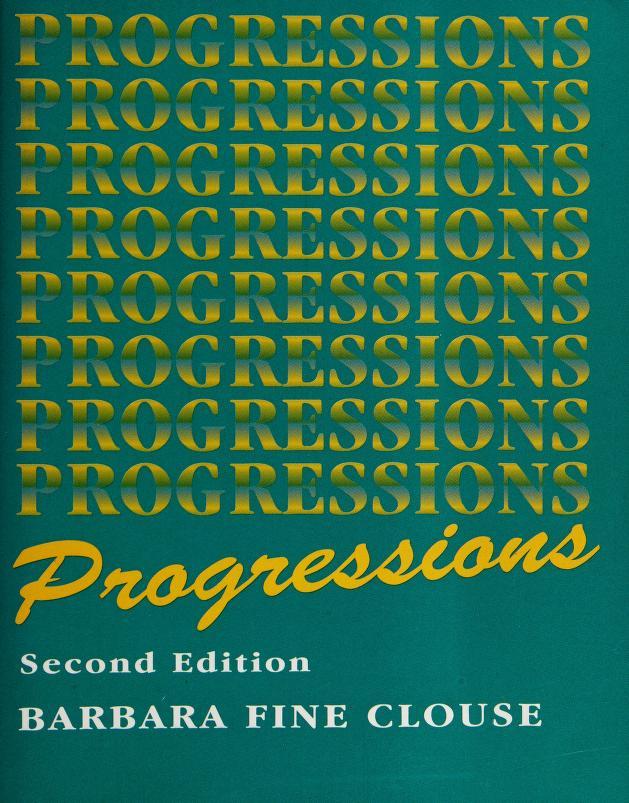 Progressions by Barbara Fine Clouse