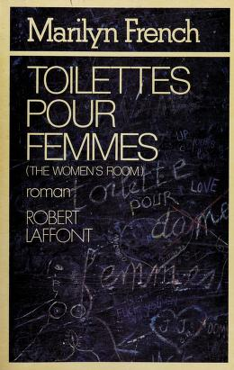 Cover of: Toilettes pour femmes | Marilyn French